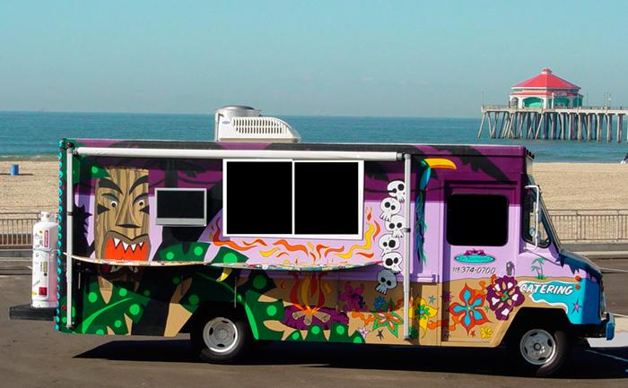 Food Truck Business Beach